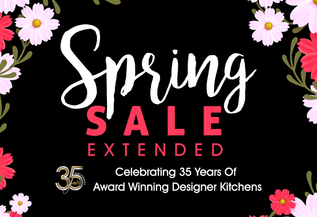 Spring Sale - Celebrating 35 Years Of Award Winning Designer Kitchens