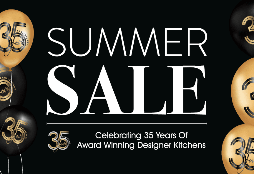 Summer Sale - Celebrating 35 Years Of Award Winning Designer Kitchens