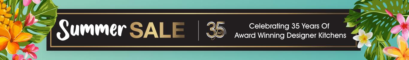 Spring Sale - Celebrating 35 Years Of Award Winning Designer Kitchens