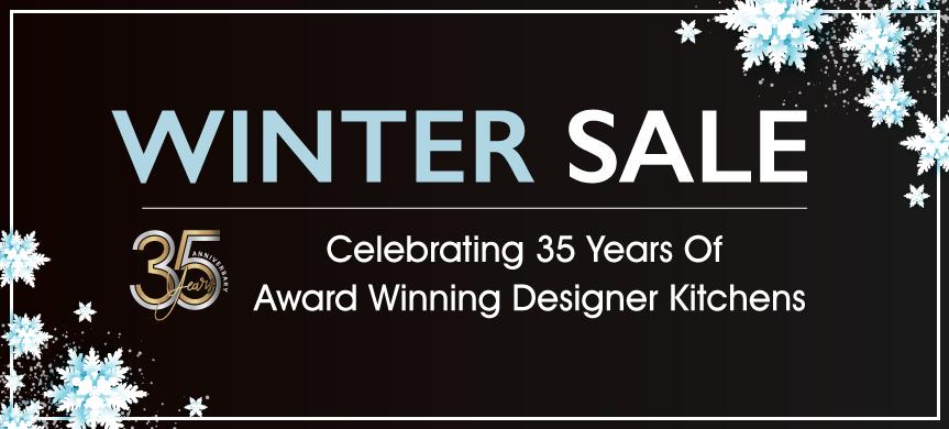 Winter Sale - Celebrating 35 Years Of Award Winning Designer Kitchens