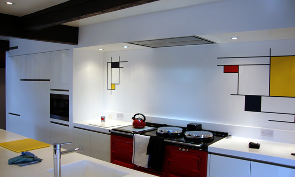 Are you drawn to artistic kitchens?
