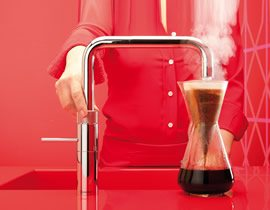Quooker Making Filtered Coffee