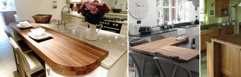 Natural Wood Worktops
