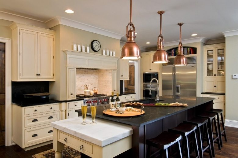 kitchens copper features