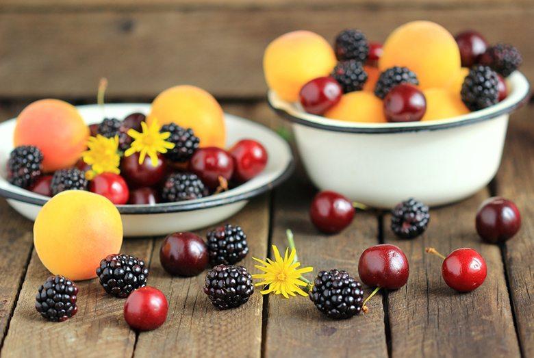 What's  in season july: berries
