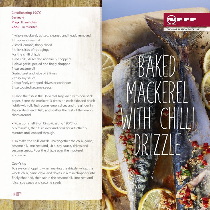 Baked-mackerel-with-chilli-drizzle