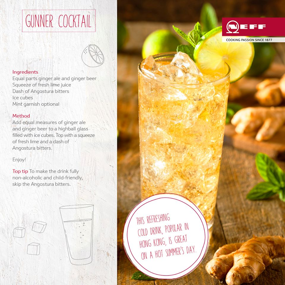 kdc recipe gunner cocktail