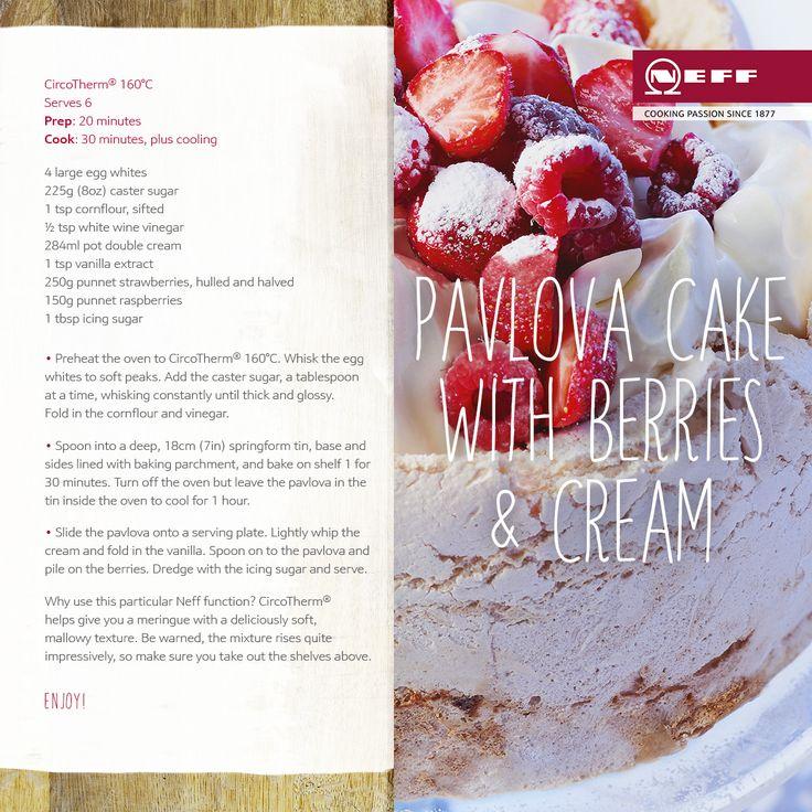 kdc recipe pavlova cake