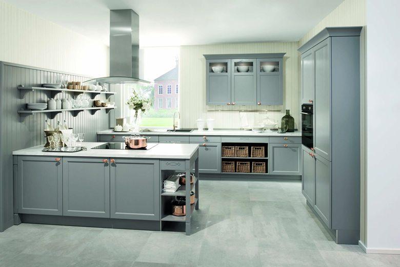Bristol Pearl Grey kitchen