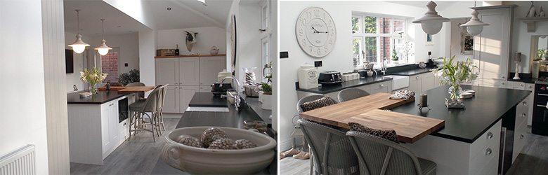 elegant cottage kitchen design