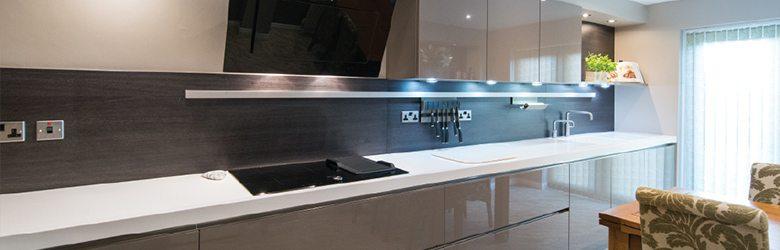 gloss designer german kitchen style