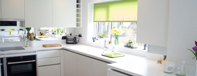 White Modern Designer Kitchen Part 94