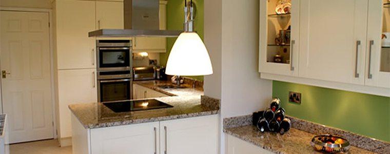 Bright kitchen lighting
