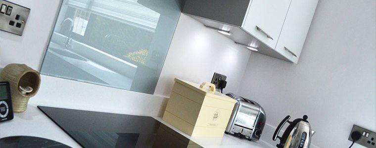 A metallic finish using appliances
