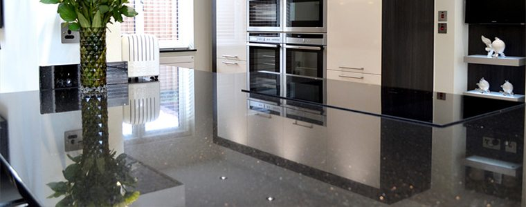 Sparkle kitchen worktop