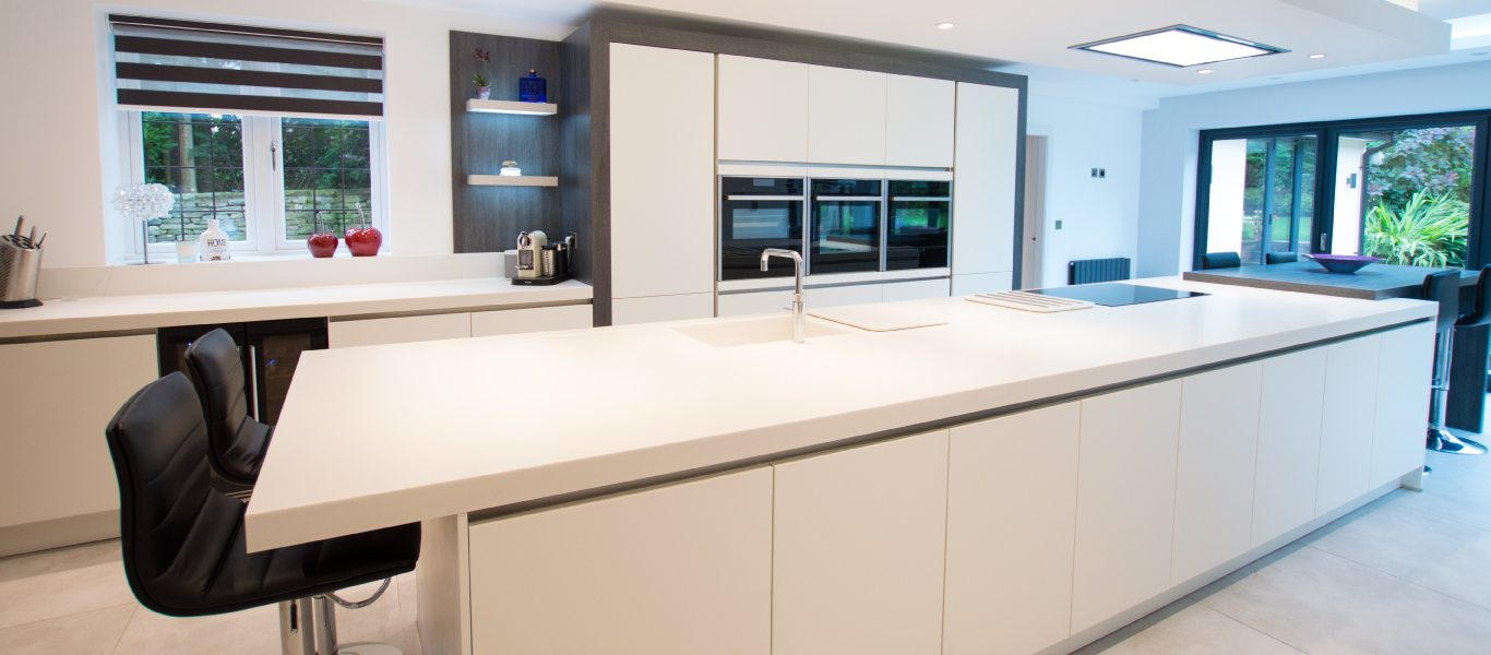 The Contemporary Family Kitchen For Customers In Stockport Kdc
