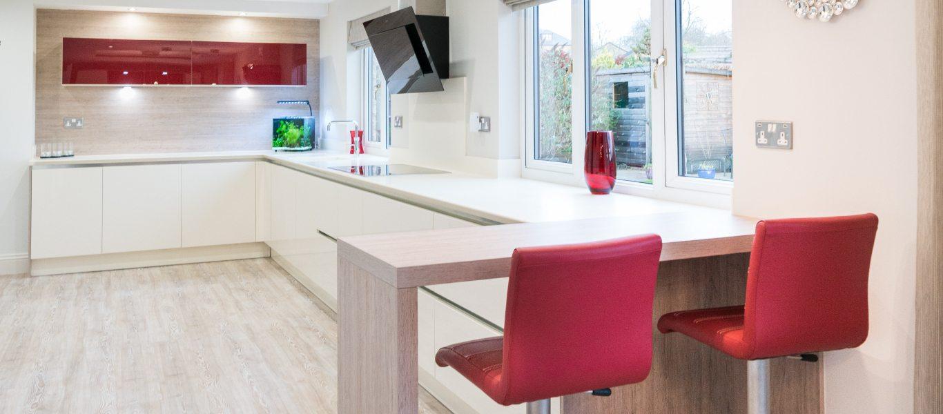 Modern Open Plan Kitchen Kitchen Design Centre