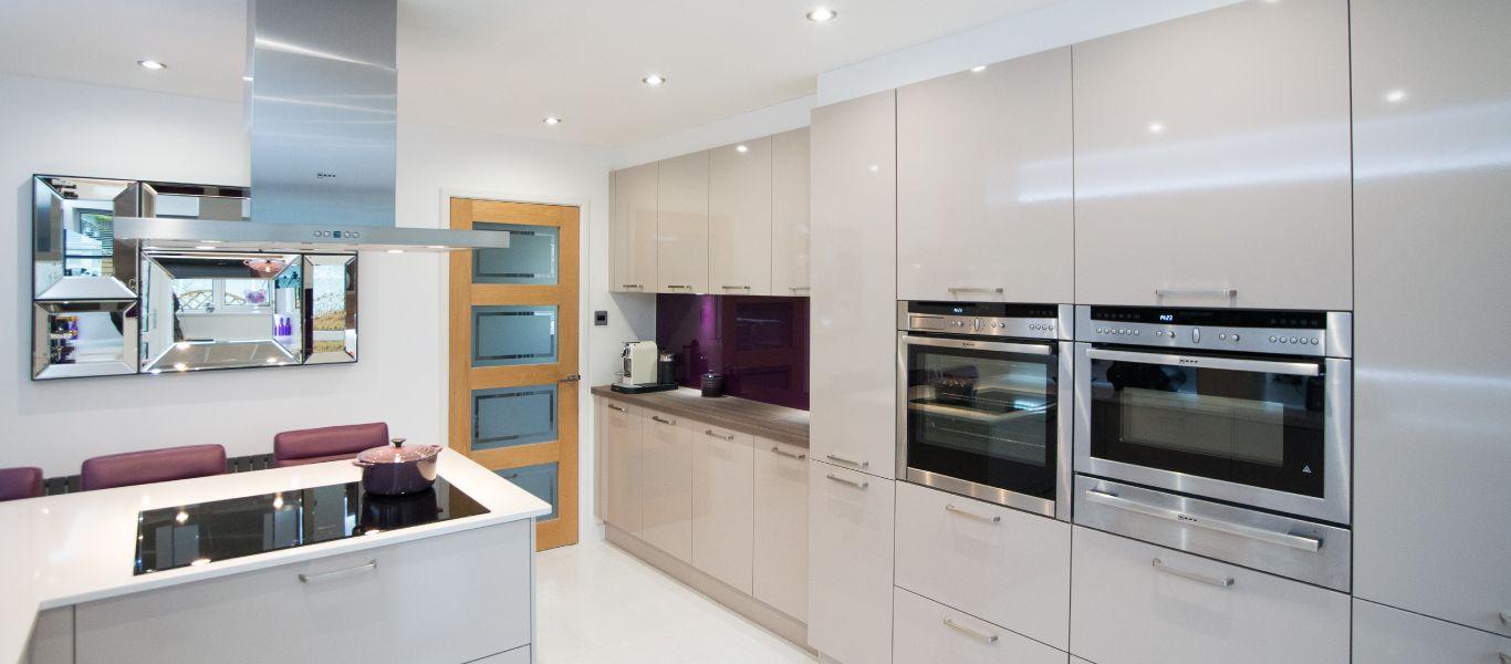 Designer Purple Kitchen Ideas | Case Study | Kitchen Design Centre