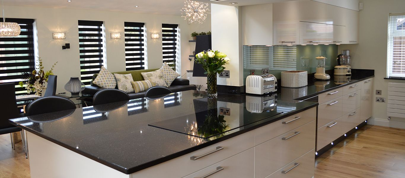 A high tech, high spec kitchen