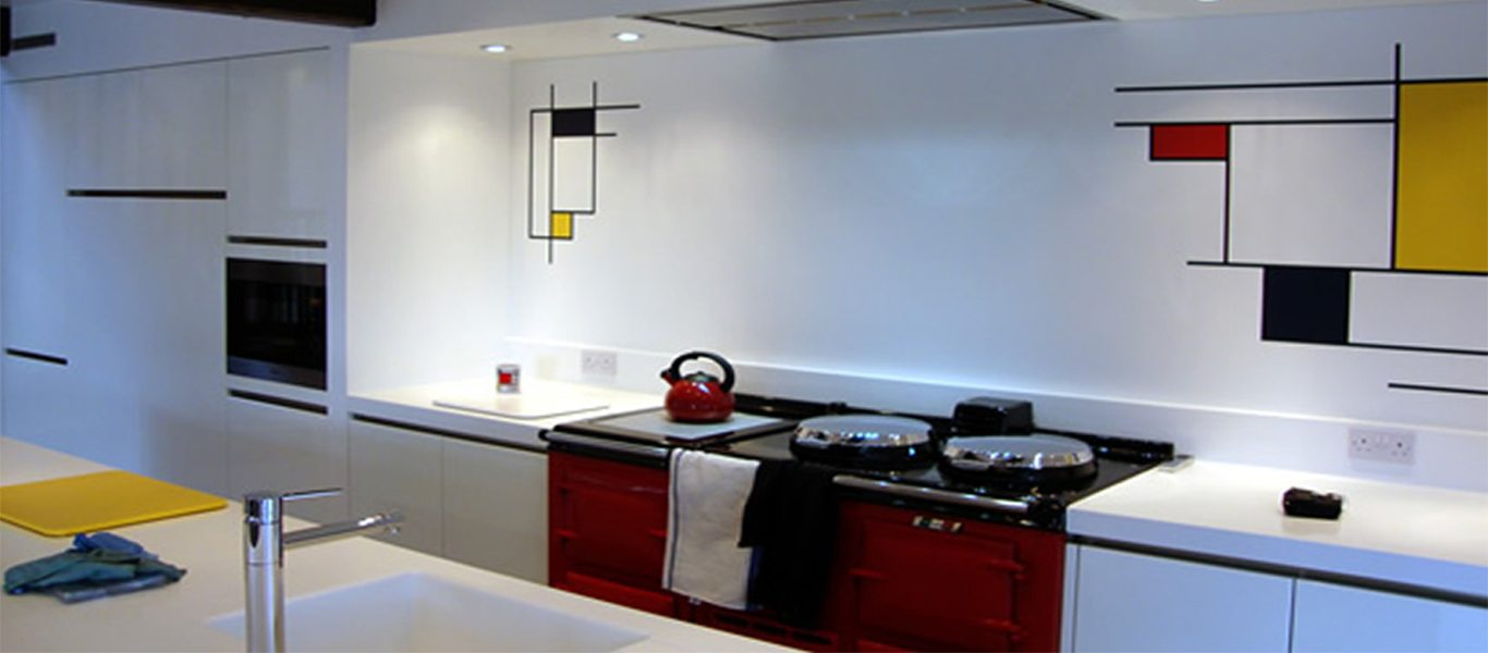 A unique kitchen project in the Lake District reinvents the famous style of Dutch artist Piet Mondrian