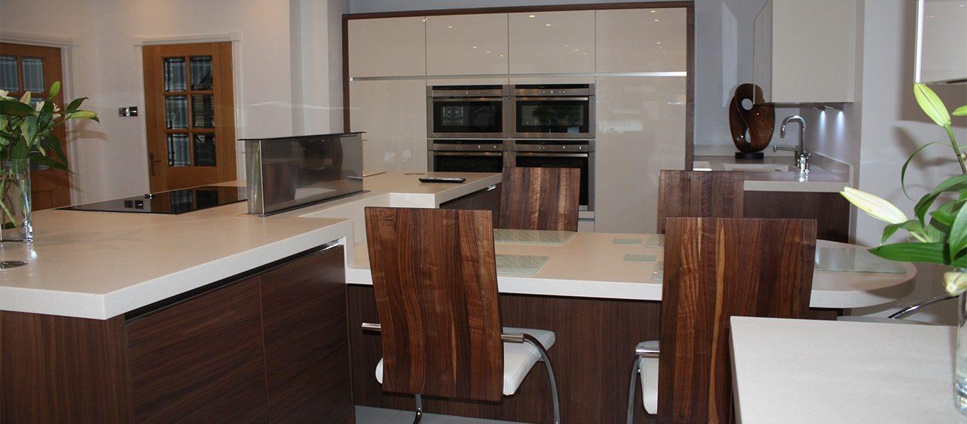 Big, bright and beautiful kitchen design in Bowdon