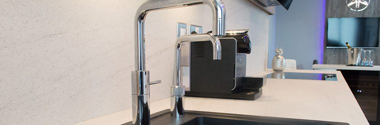 Kitchen taps and appliances