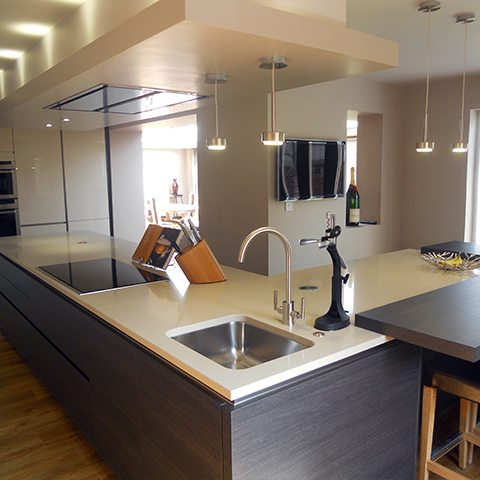 An innovative, unique kitchen design in Whalley