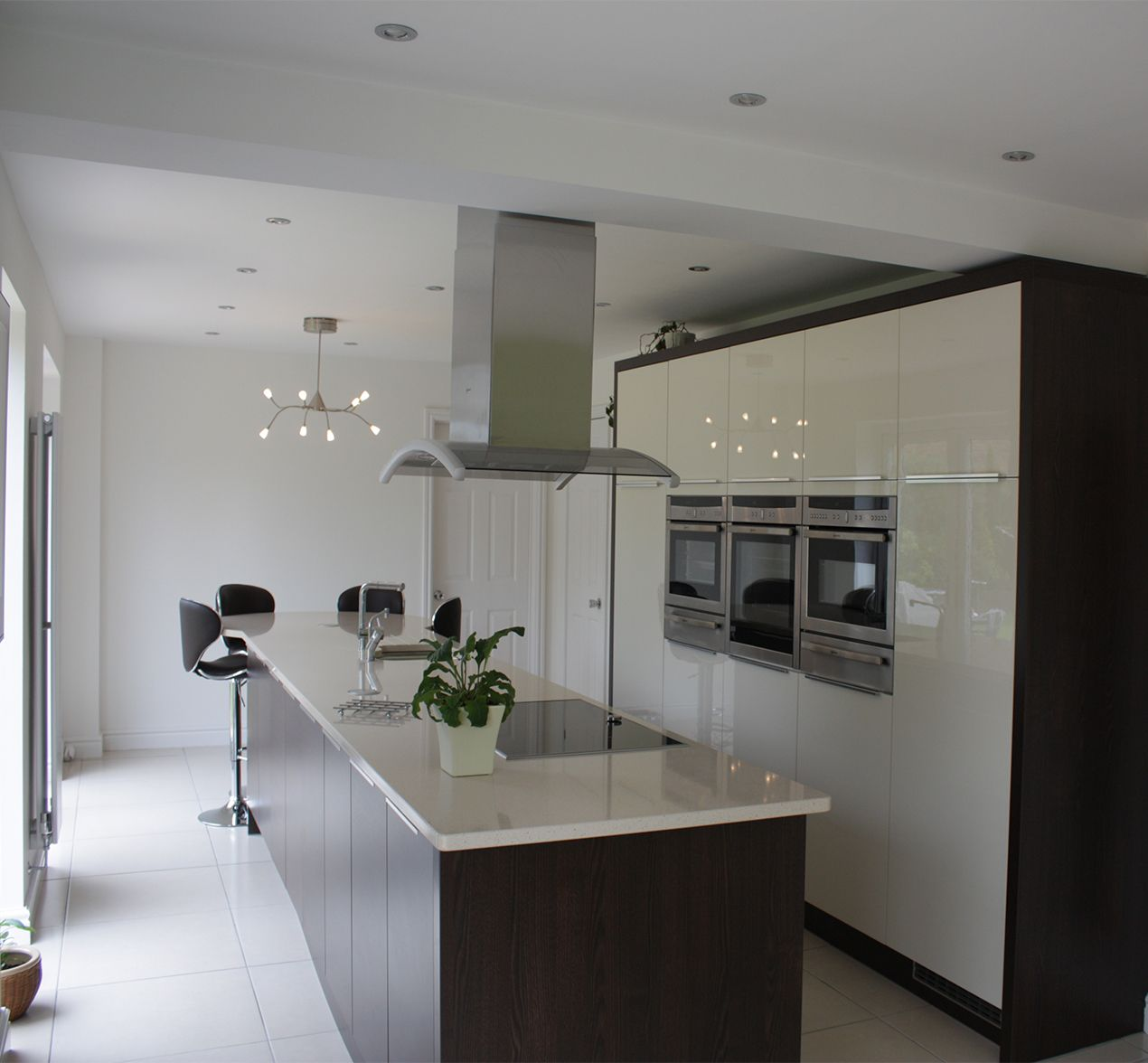 Designed Kitchens.  Customer Kitchens Kitchen Design Centre
