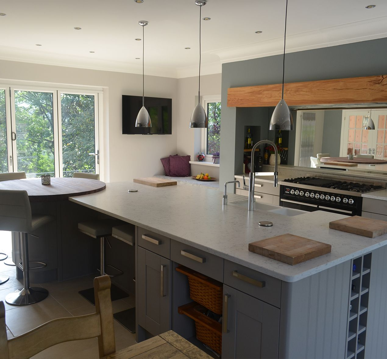 Designer Kitchen For A New Build Home