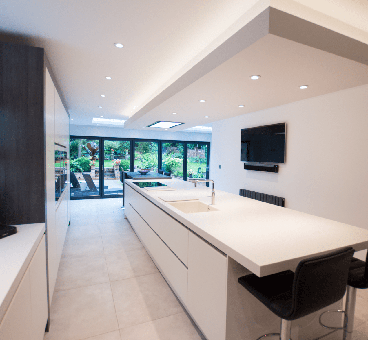 The Contemporary Family Kitchen For Customers In Stockport