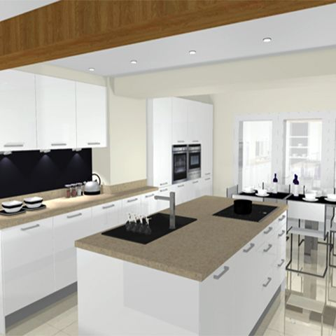 Cottage Renovation In Great Harwood Kitchen Design Centre