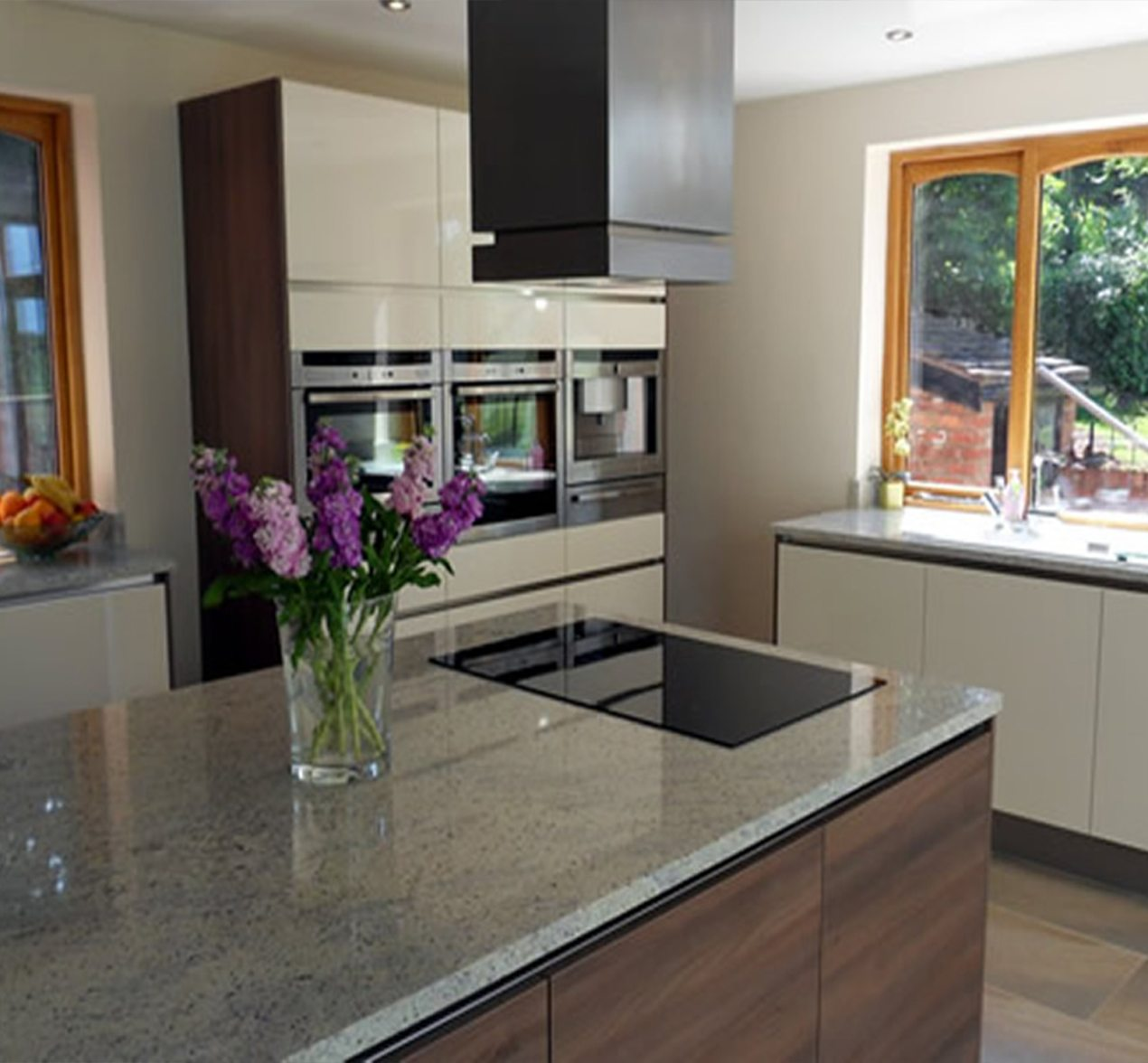 Family helps to design their own kitchen