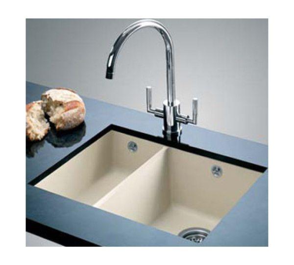 UND Subline 340/160-U RH Bowl Sink & Tap Pack