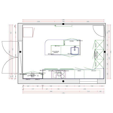 Beyer Kitchen Plan
