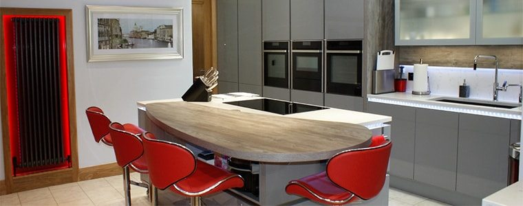 industrial style kitchen design