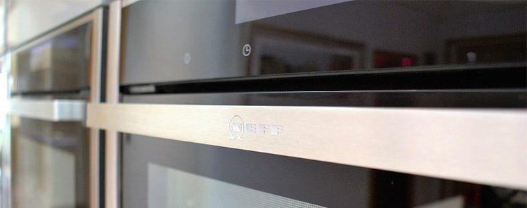 stainless steel neff oven