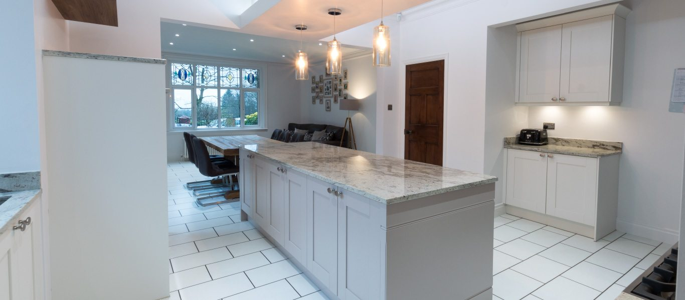 Traditional Shaker-Style Kitchen with a Modern Twist For Customers ...