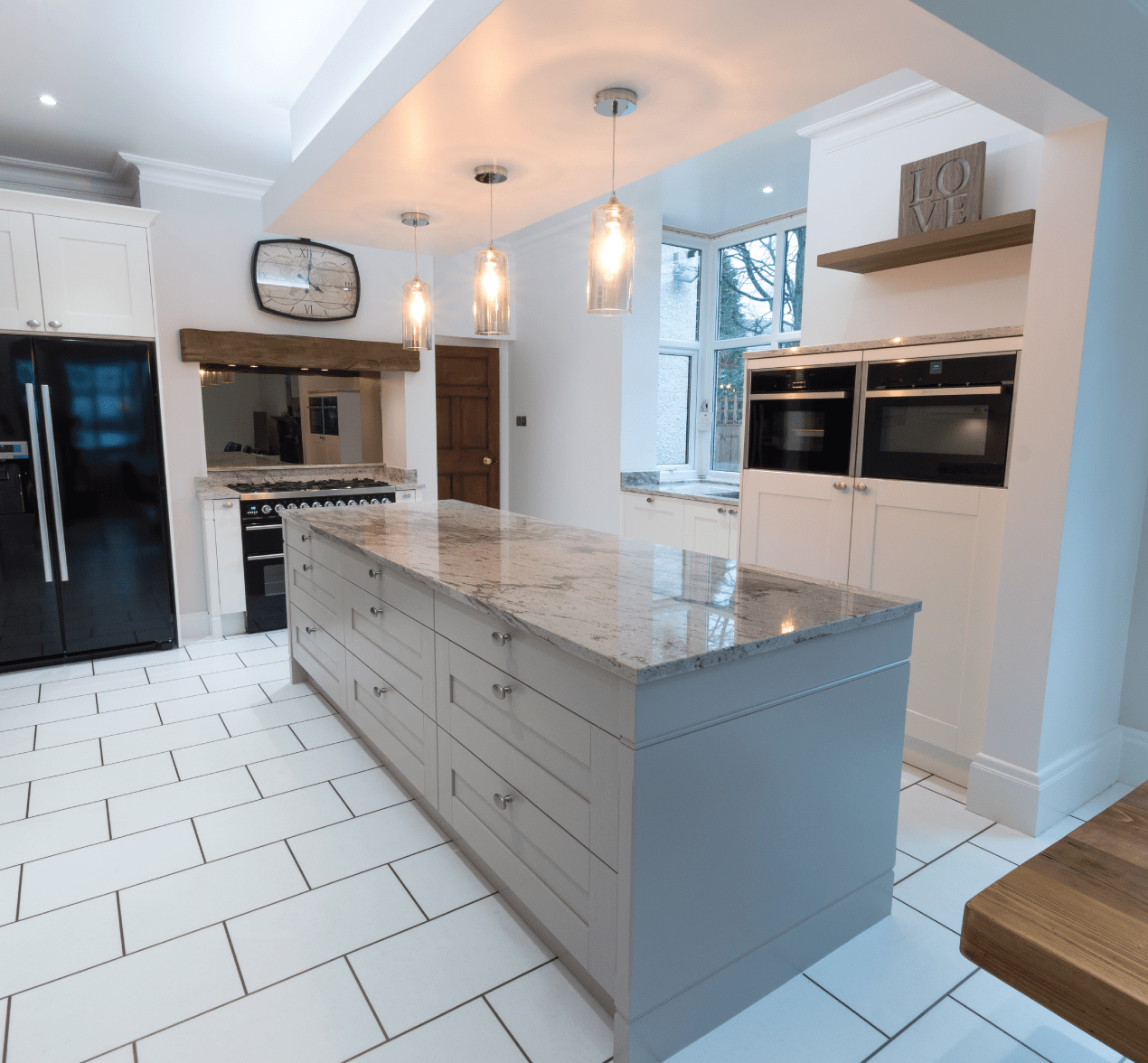 Traditional Shaker-Style Kitchen With A Modern Twist For