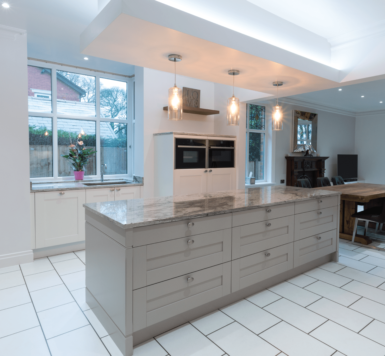 Kitchen Design Centre Audenshaw: Traditional Shaker-Style Kitchen With A Modern Twist For Customers In Rochdale