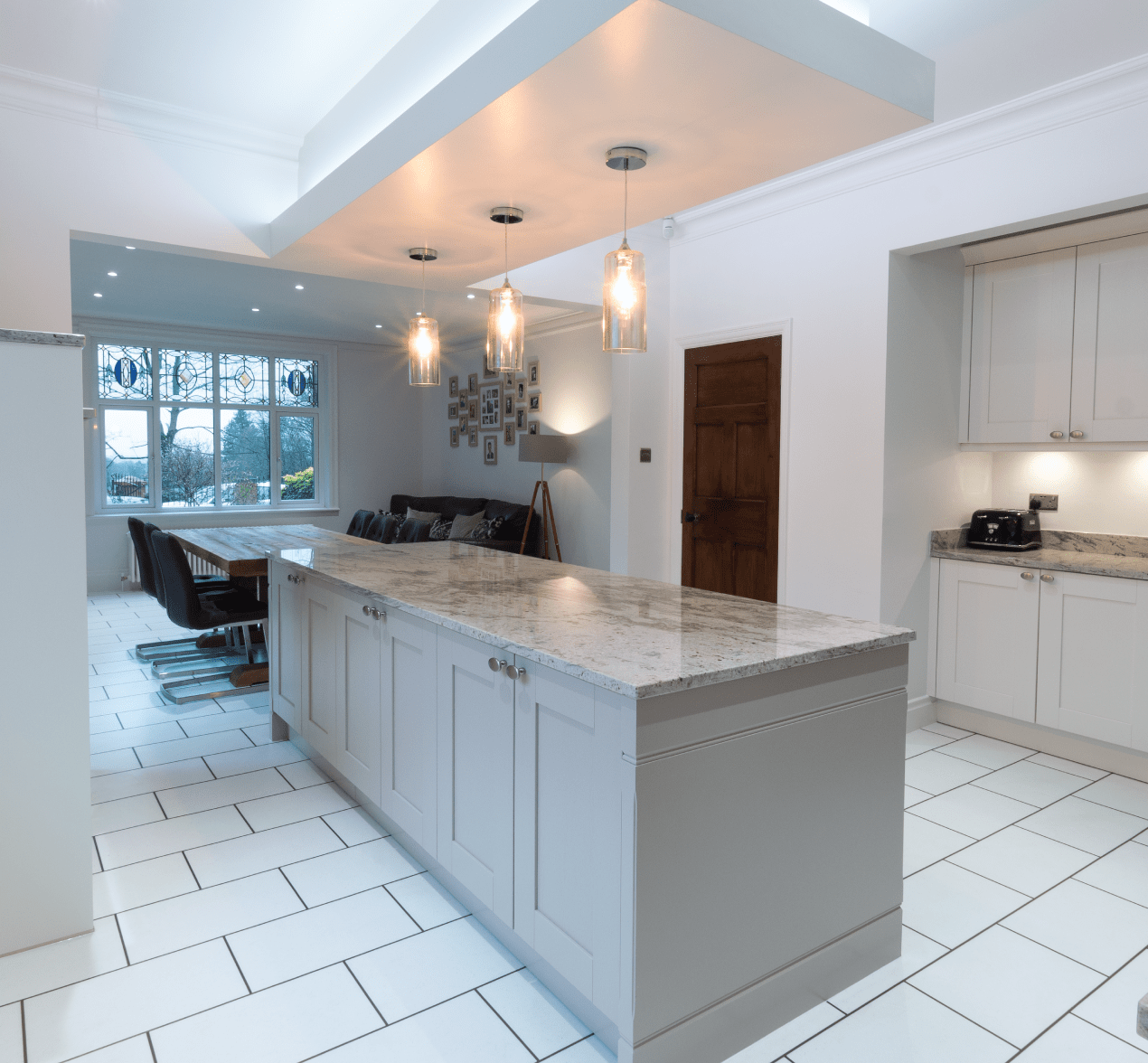 Traditional Shaker Style Kitchen With A Modern Twist For Customers In Rochdale