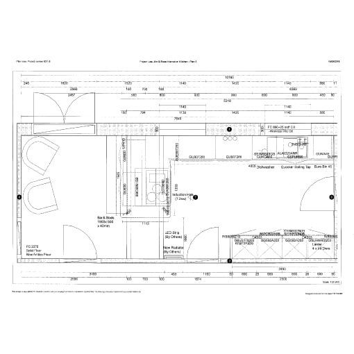 Rose Lea - Kitchen Plan