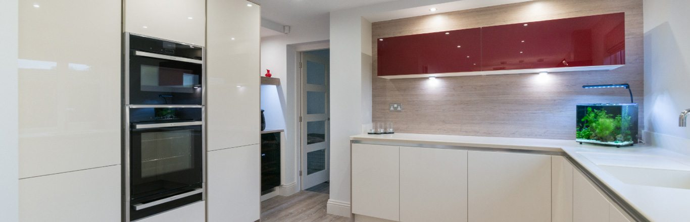 seeing red how to use the colour red in kitchen design feature image