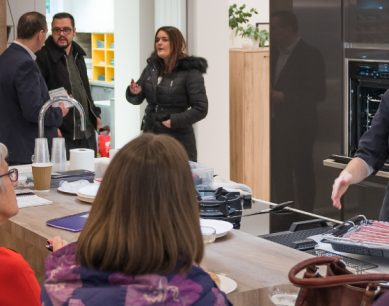 kitchen design centre barrowford showroom opening event