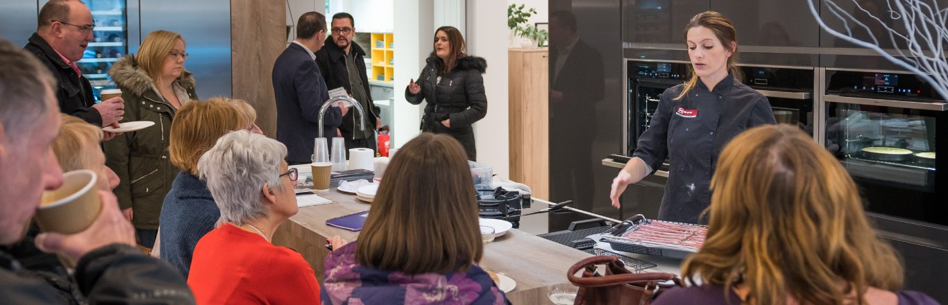 Elegant Kitchen Design Centre Barrowford Showroom Opening Event