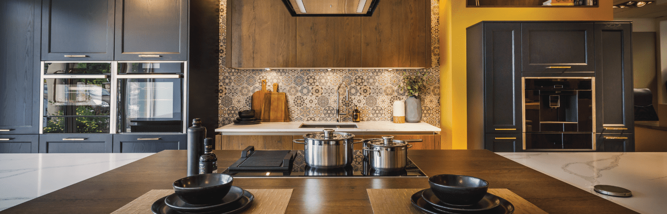 bristol blue kitchen