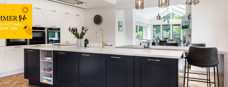 We're offering free fitting on your dream kitchen!