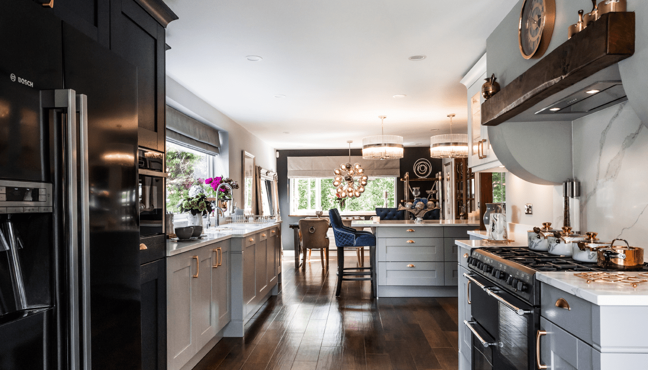A dog walk leads couple to their dream kitchen