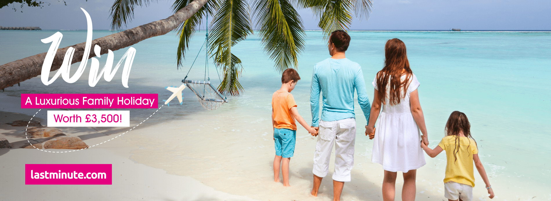 WIN a luxurious family holiday worth £3,500!