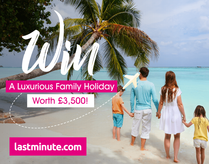 Free WIN a luxurious family holiday worth £3,500!