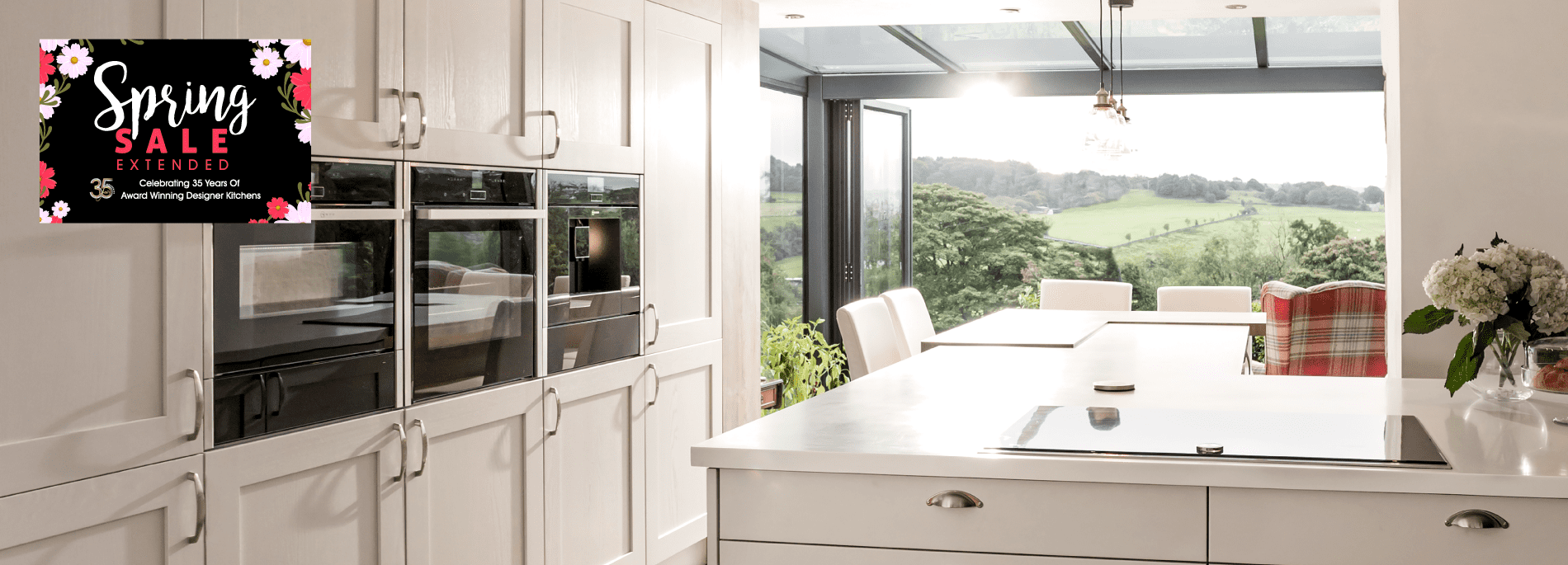 Get Free Fitting on your dream kitchen as part of our Spring Sale!